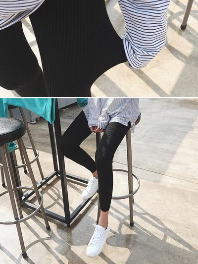 골지탄탄-leggings