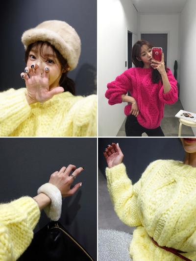 파인애플-knit